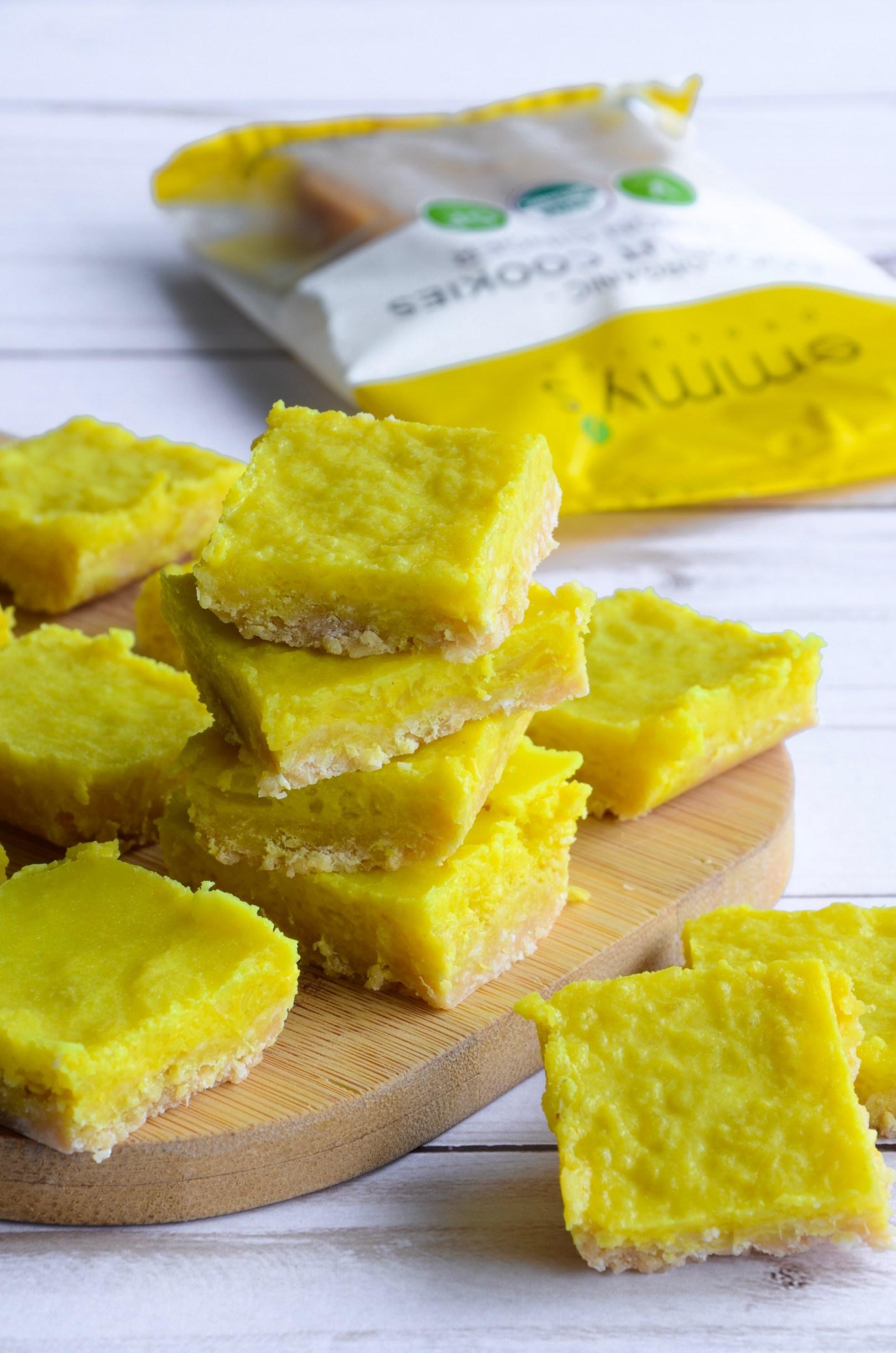 Lemon Ginger Turmeric Bars