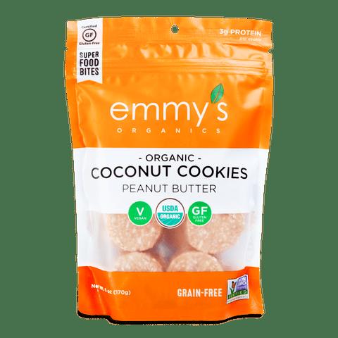 PB Coconut Cookies