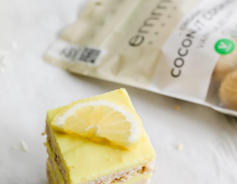 Coconut Lemon Curd Bars