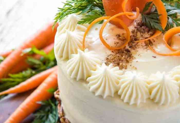 Best Ever Buttermilk Carrot Cake Springsweetsweek The Crumby Kitchen