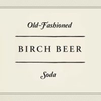 Old-Fashioned Birch Beer Soda