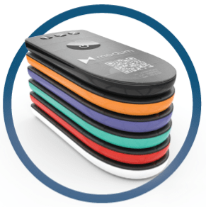 Modum temperature sensor logistics token
