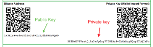 bitcoin public key private key