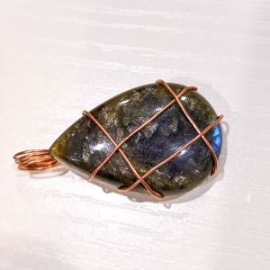 Labradorite Pendant ~ High Quality