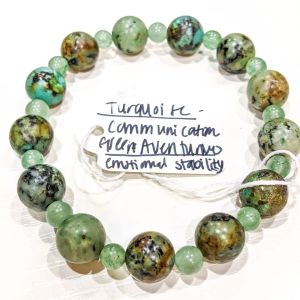 Turquoise + Green Aventurine