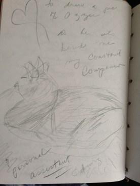 sketch of ozzie