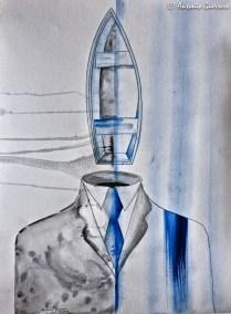 Tailor Boat, Antonio Guerrero, cuban artist, cuban art-12