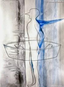 Tailor Boat, Antonio Guerrero, cuban artist, cuban art-13