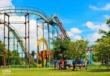 roller coaster at Lenin park © Cuba Absolutely, 2014