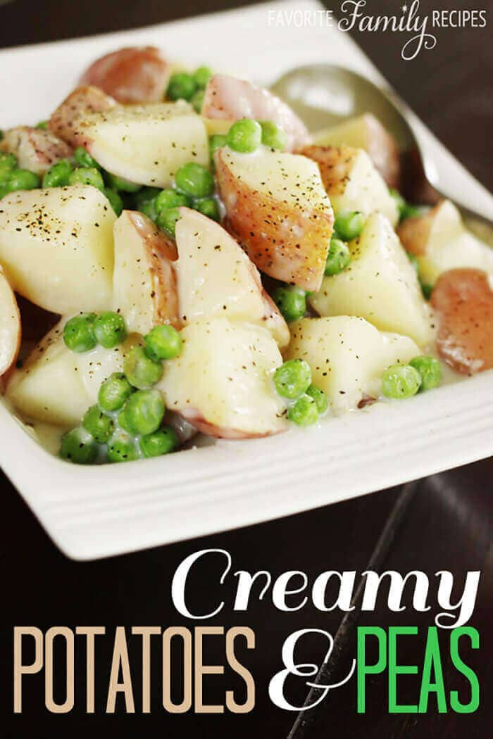 Creamy Potatoes And Peas-easter side dishes recipes-easter side dishes vegetables-easter side dishes make ahead-easter side dishes recipes veggies-easter side dishes recipes simple