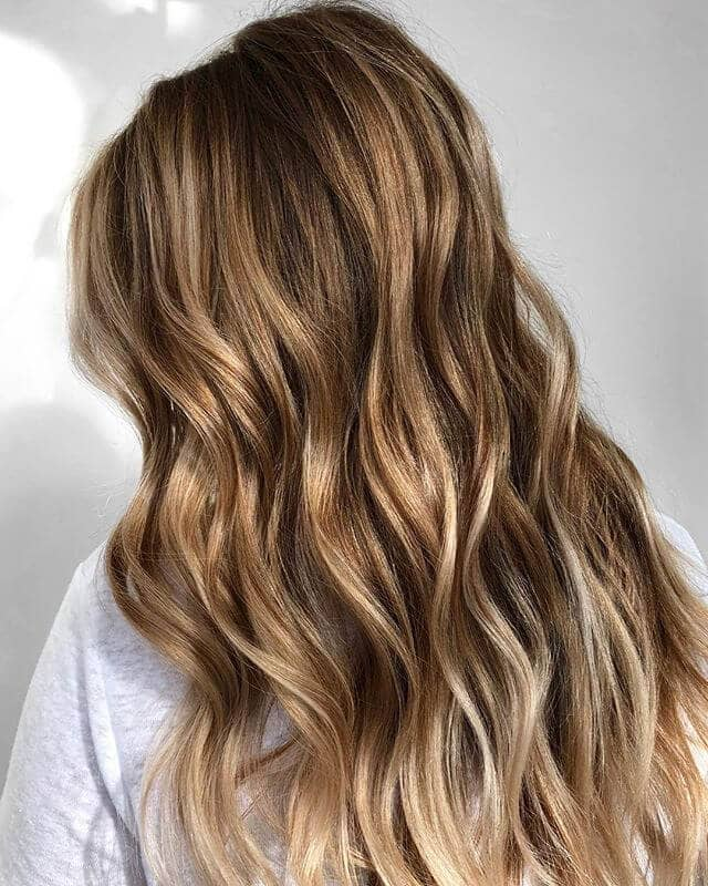 Fun and Subtle Beach Waves with Natural Highlights