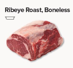rib eye roast boneless