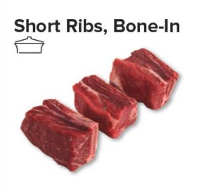 short ribs bone in