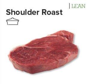 beef shoulder roast cut