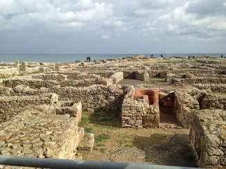 Punic ruins of the ancient city of Kerkouane