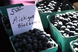 Michigan grown blueberries
