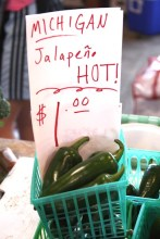Caliente! Jalapenos grown in MI