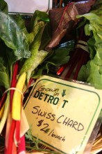 Grown in Detroit- Swiss Chard