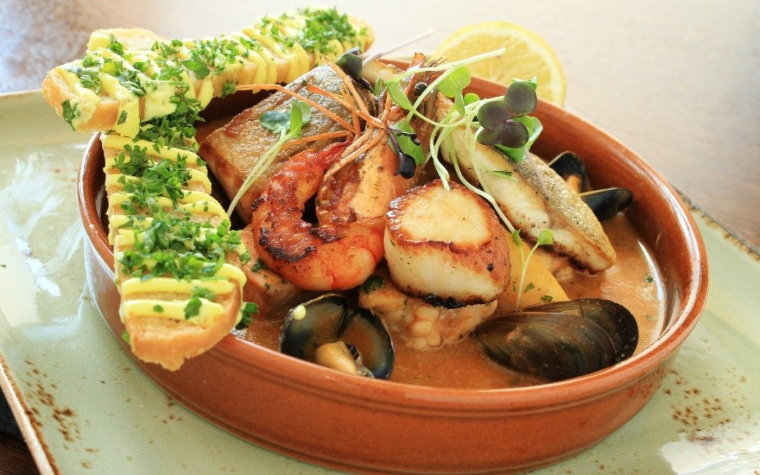 Julia Child's Recipe for Bouillabaisse