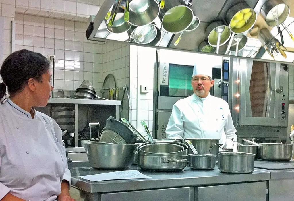 Cooking Class at Le Cordon Blue Paris