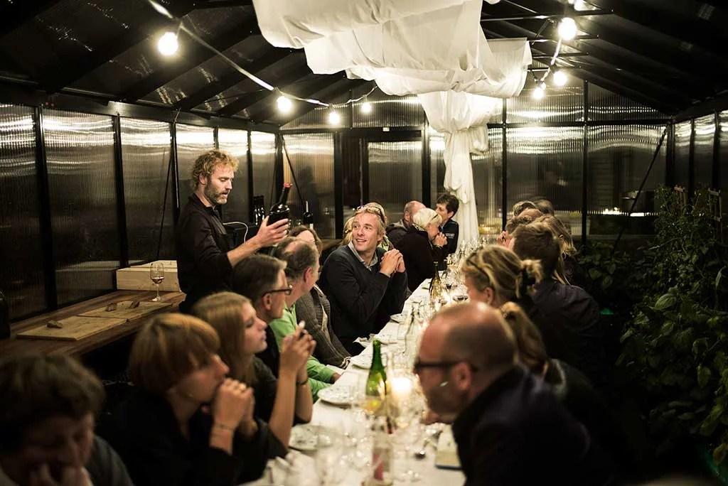 Farm to Table Dinner at GRO Rooftop Farm in Copenhagen