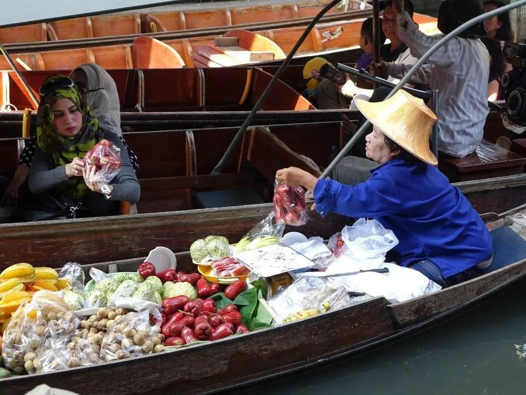 Floating Market, Bangkok| TheCulinaryTravelGuide.com