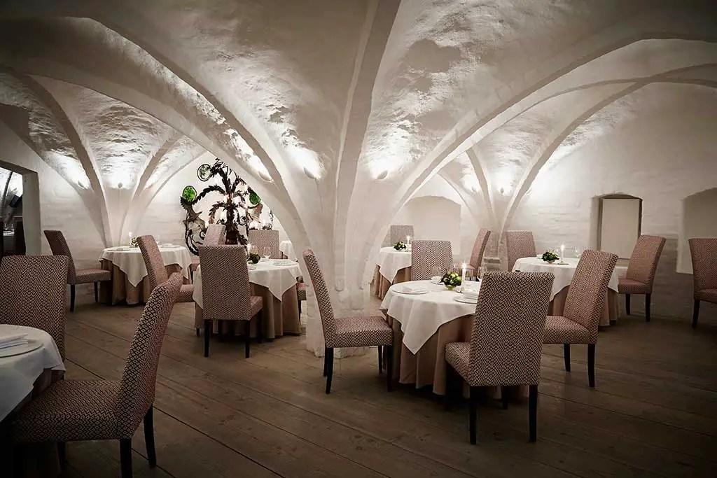 Restaurant Kong Hans Kælder, Copenhagen