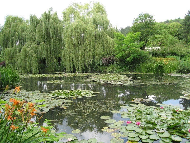 Monet's Gardens, Giverny France photo by Food Travelist