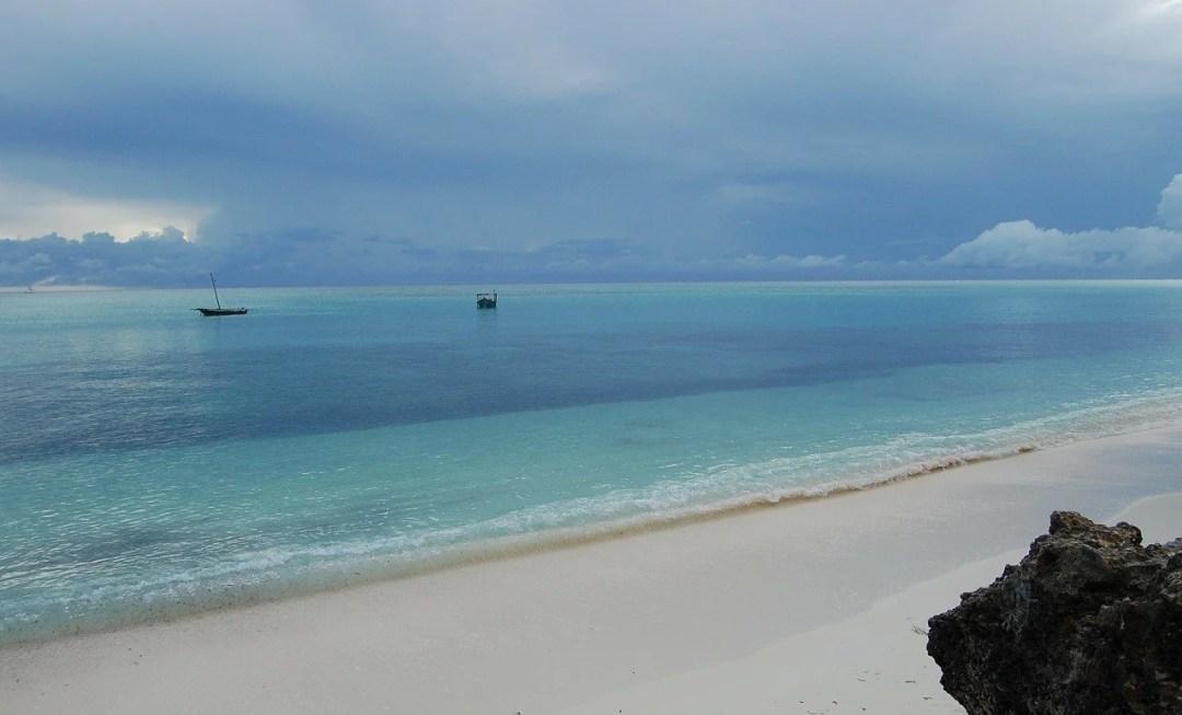 Sandy Beach in Zanzibar