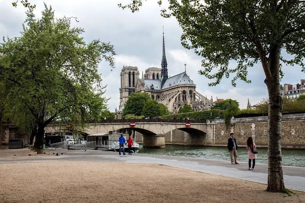 Notre Dam, Paris, photo by Michael Saint James