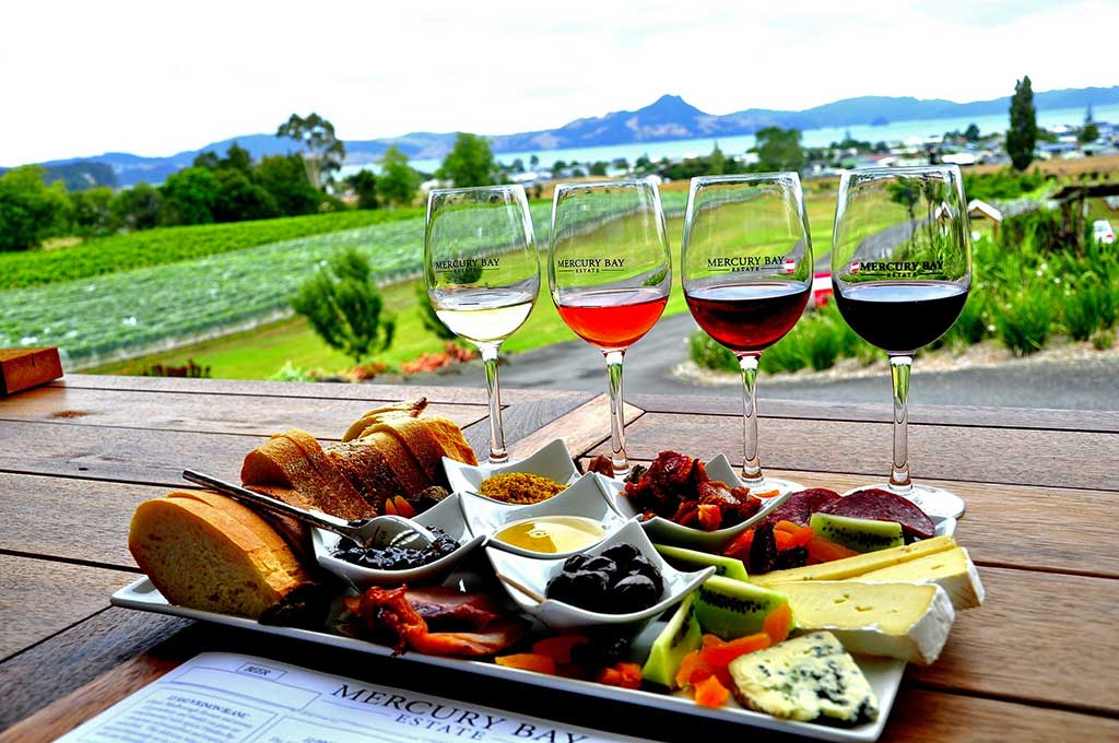 Wine Tasting at Mercury Bay Estate, New Zealand | TheCulinaryTravelGuide.com