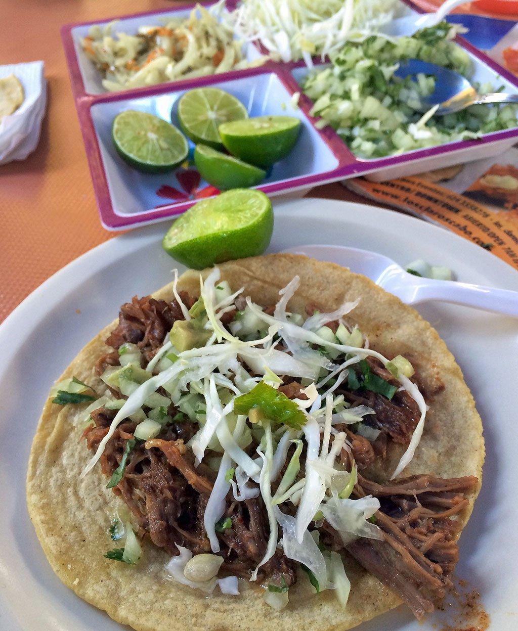 Tired of eating at the usual gringo dives in Los Caobs? Find out where and what the locals eat on a Juan More Taco Tour in downtown Cabo San Lucas.