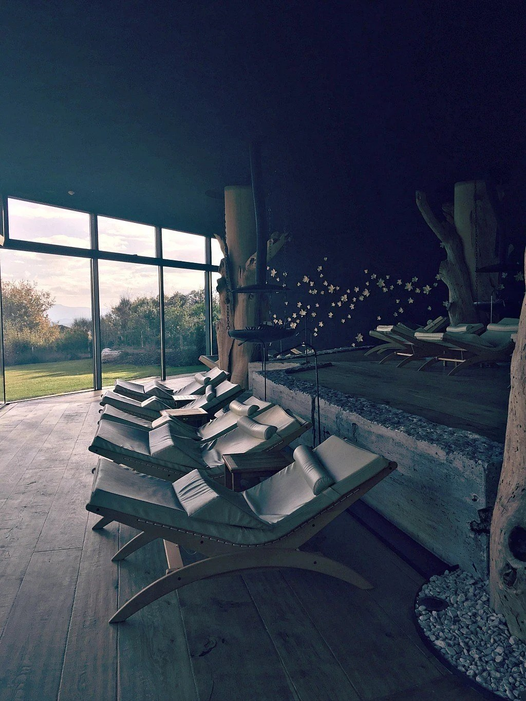 Relaxation lounge at the Adler Thermae Resort and Spa