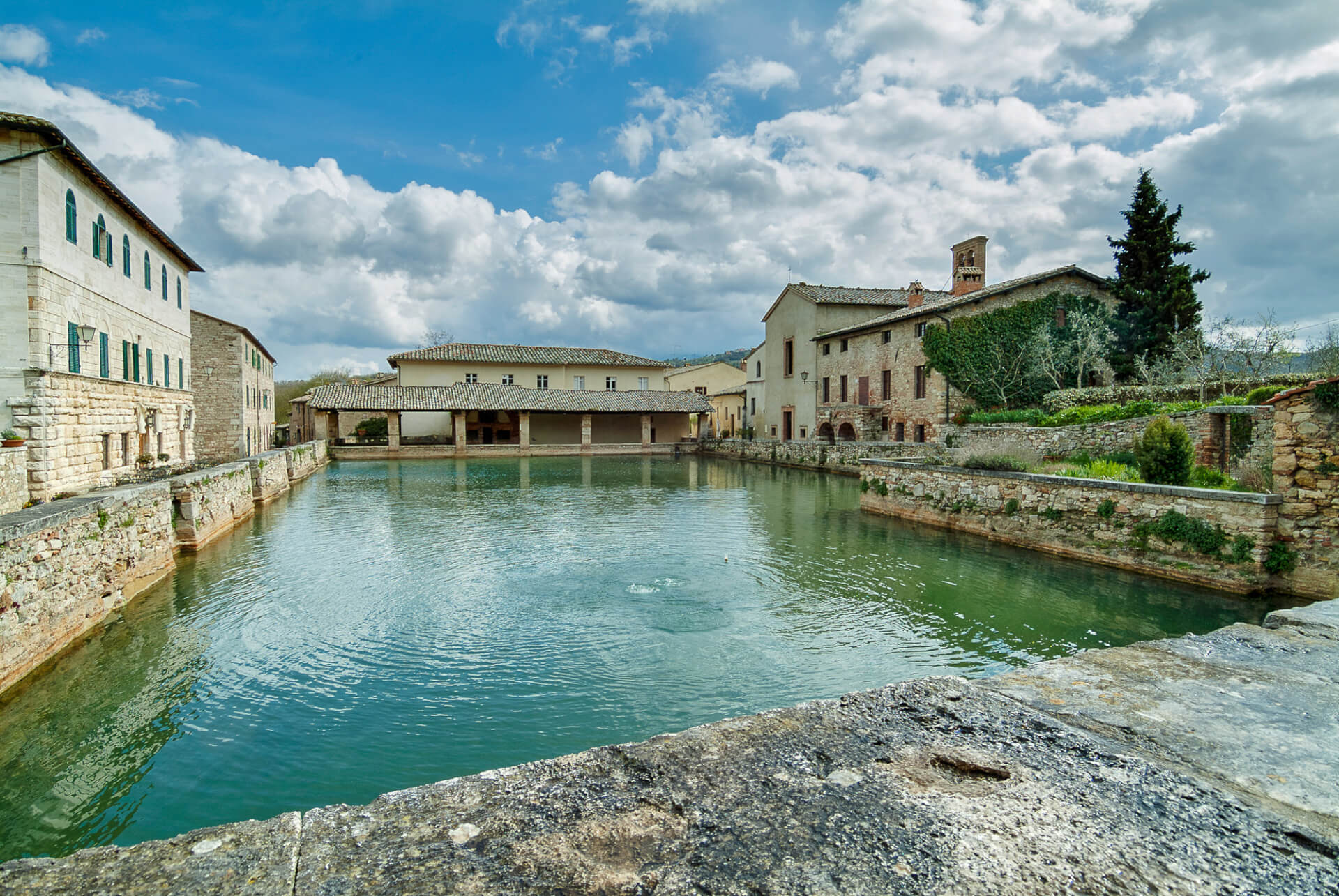 The bagno vignoni hotel of your dreams adler thermae toscana review - Adler bagno vignoni hotel ...