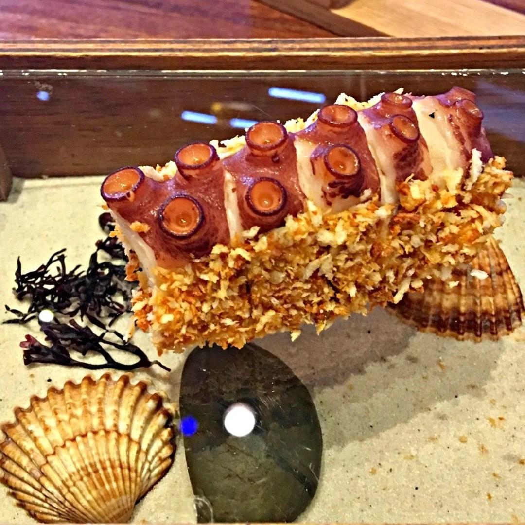 Crispy Octopus at Tickets Barcelona