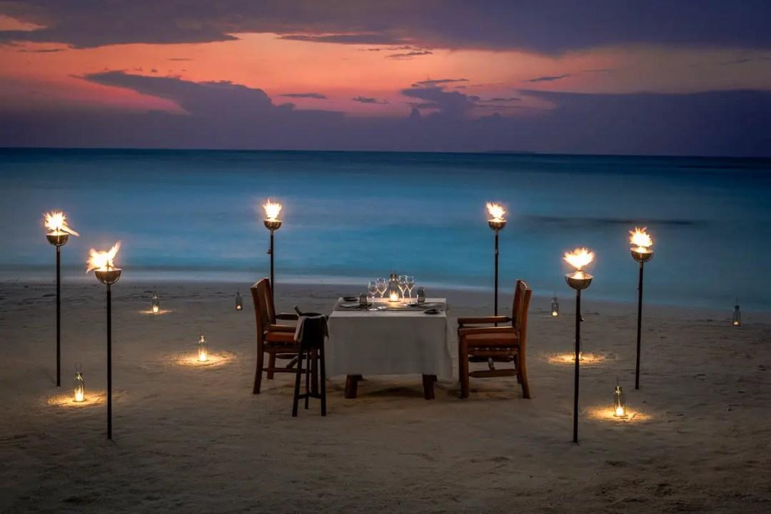 Maldives Food Experiences - Mood Dining Menus at Milhaidoo Island Maldives