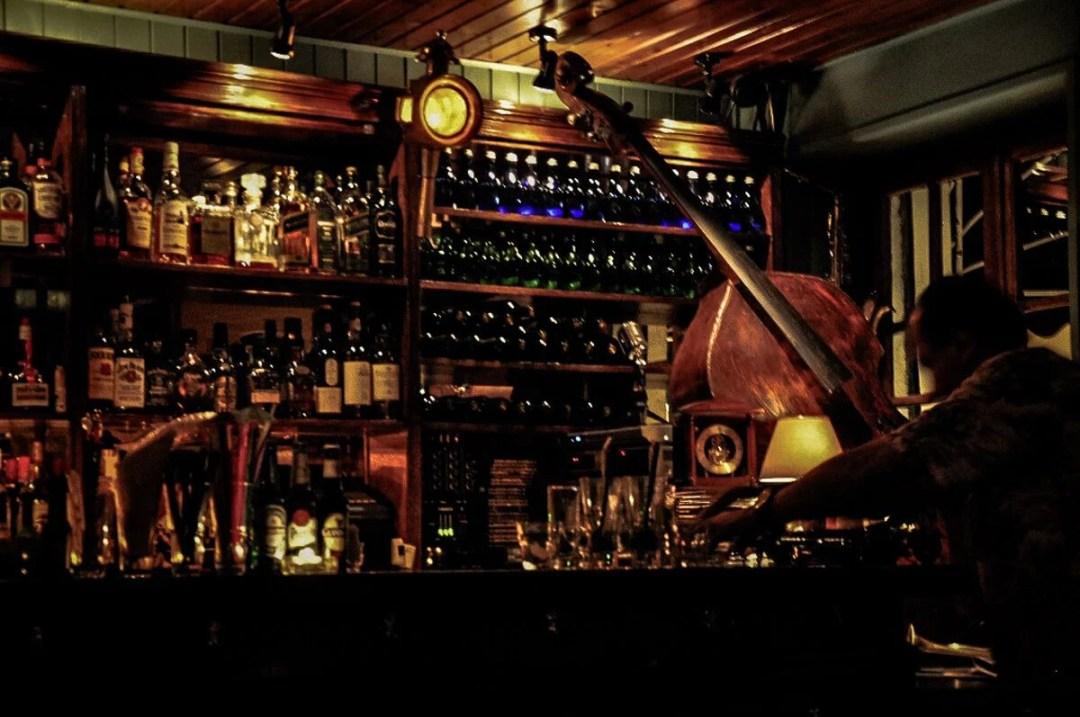 Inside a Greek Taverna in Athens