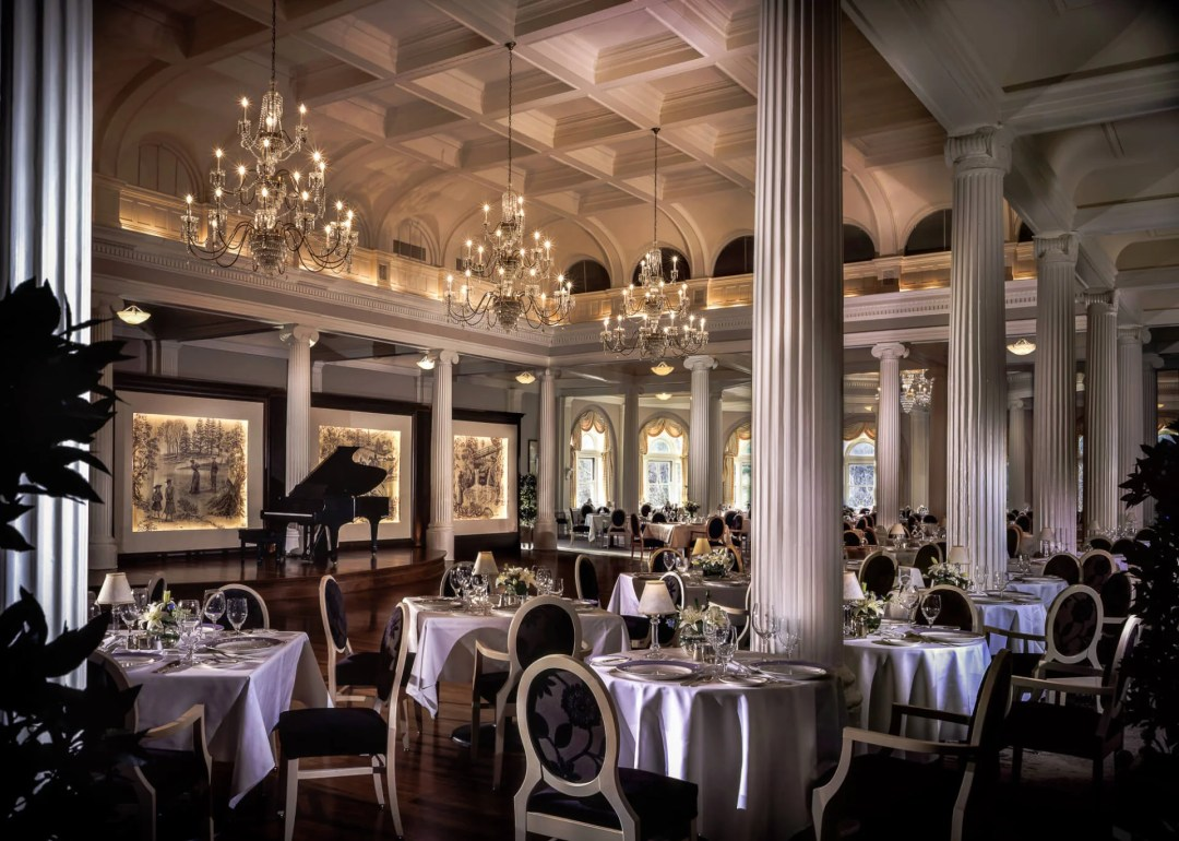The Omni Homestead Dining Room