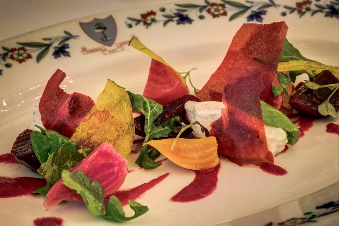 Winter beets salad