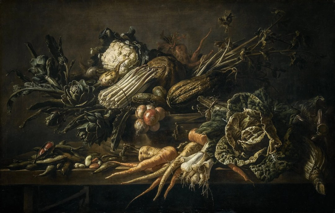 The World Carrot Museum showcases fine art, such as this still life, that features the humble carrot.