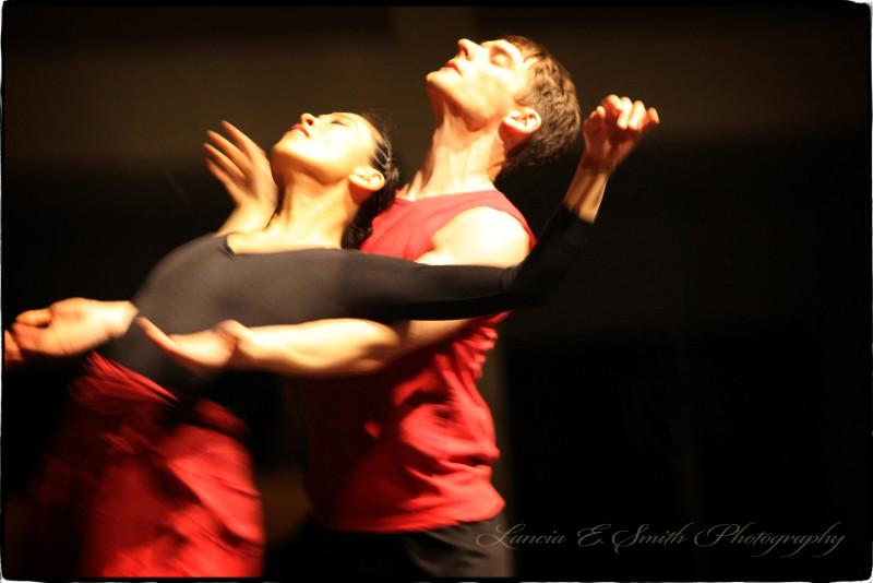 Ad Deum Performance with Shizu Yasuda and Daniel Cossette - image copyright Lancia E. Smith - www.lanciaesmith.com