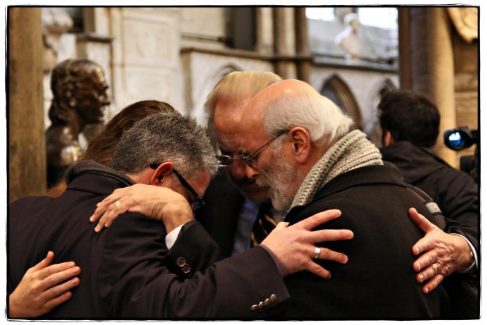 Prayer Huddle - Image copyright Lancia E. Smith - www.lanciaesmith.com