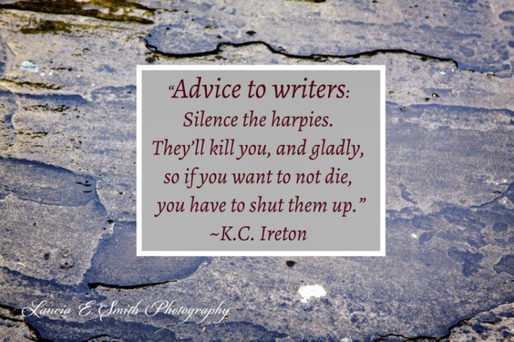 Advice to writers KCI - Image (c) Lancia E. Smith