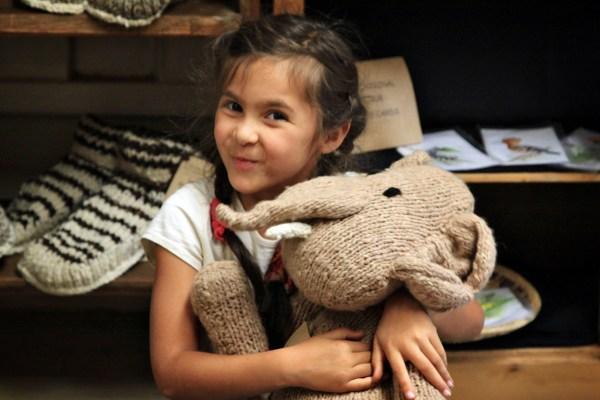 Kenana Knitters Happy Customer - Image (c) Lancia E. Smith