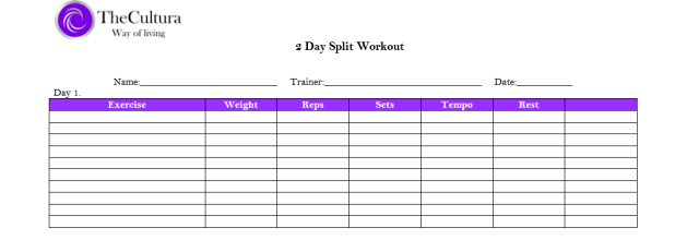 exercise logs