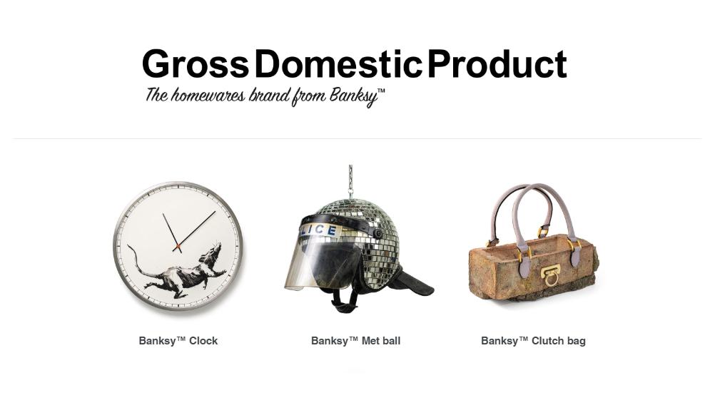 ¡Pasen y compren! La tienda online de Banksy ya está en funcionamiento
