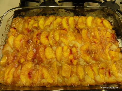 Peach Cobbler Finished