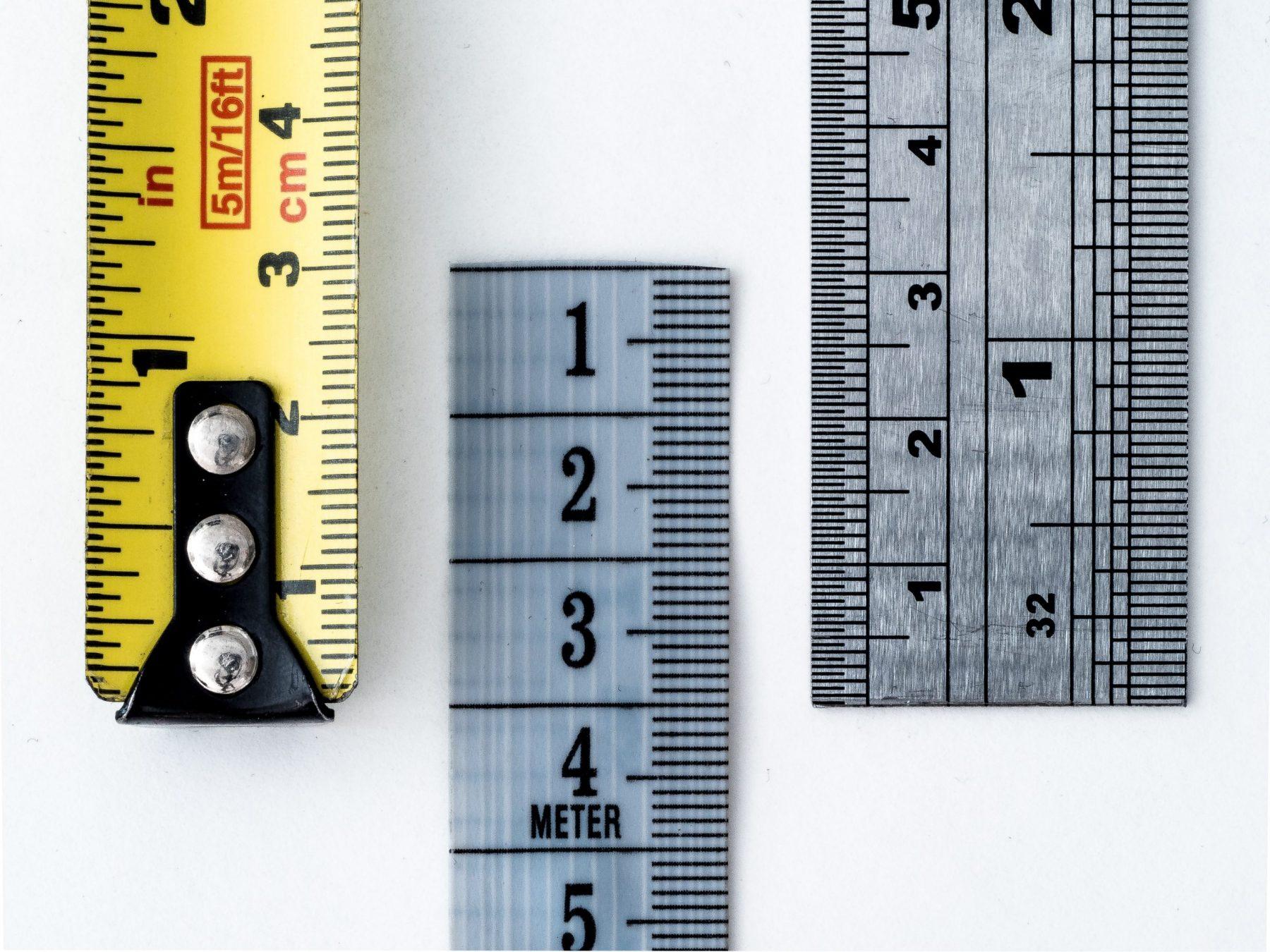 Measure three things