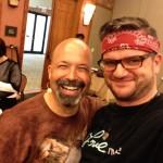 Robert and Christian at Warrior Camp