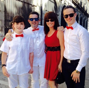 Belen+Roberto+boys